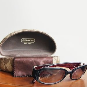Coach Lindsay Sunglasses with case/dustcloth
